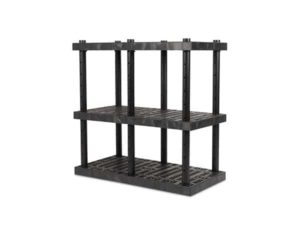 DuraShelf 3-Shelf Adjustable Grid Top 48x24 48 H Angle