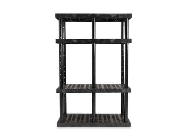 DuraShelf 4-Shelf Adjustable Grid Top 48x24 72 H Front