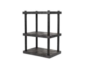 DuraShelf 3-Shelf Adjustable Solid Top 36x24 48 Angle