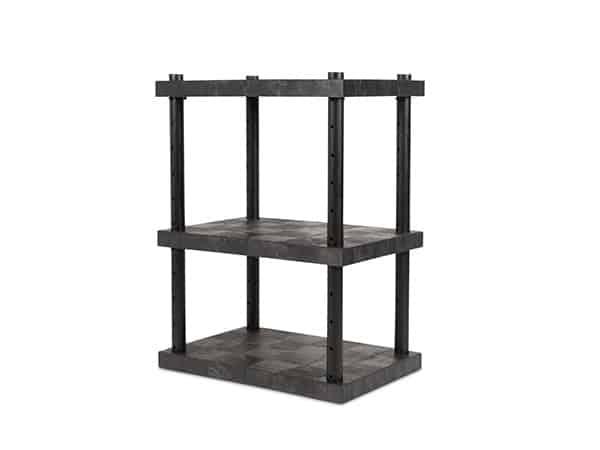 DuraShelf 3-Shelf Adjustable Solid Top 36x24 48 Angle
