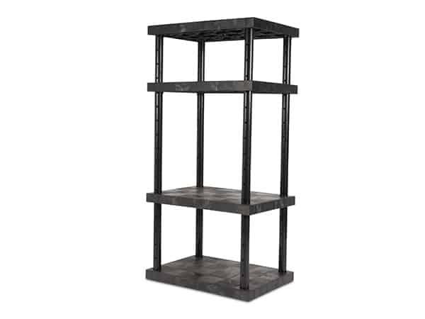 DuraShelf 4-Shelf Adjustable Solid Top 36x24 72 Angle