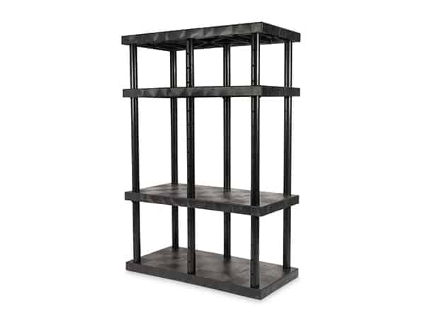 DuraShelf 4-Shelf Adjustable Solid Top 48x24 72 Angle
