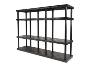 DuraShelf 4-Shelf Adjustable Solid Top 96x24 72 Angle