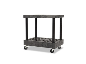 Industrial Tool Cart 36x24 Angle