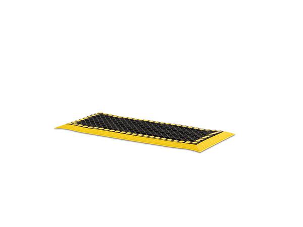 dd-A-Level Mat 36x16 Black Yellow Border
