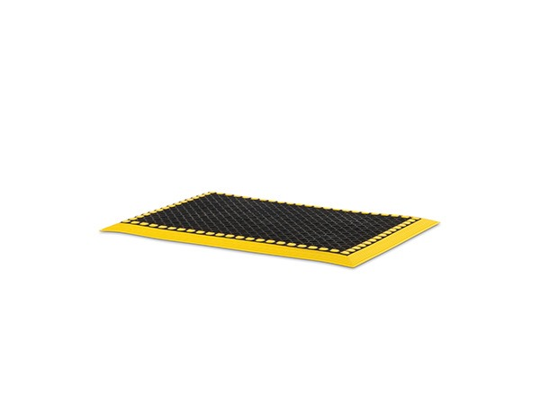 Add-A-Level Mat 36x24 Black Yellow Border