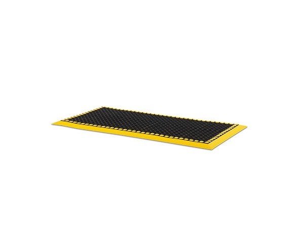 Add-A-Level Mat 48x24 Black Yellow Border