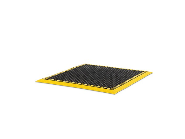 Add-A-Level Mat 36x36 Black Yellow Border