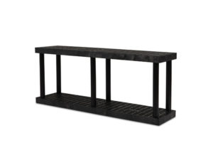 DuraShelf Grid Top 66x16 27 2-Shelf System Angle