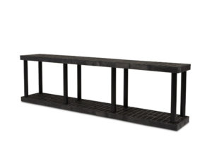 DuraShelf Grid Top 96x16 27 2-Shelf System Angle