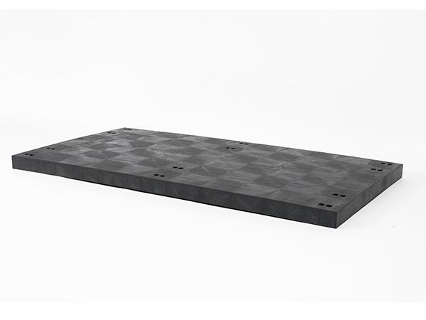 DuraShelf Solid Top D Panel 66x36