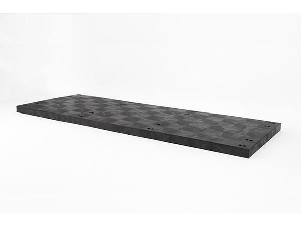 DuraShelf Solid Top D Panel 96x36