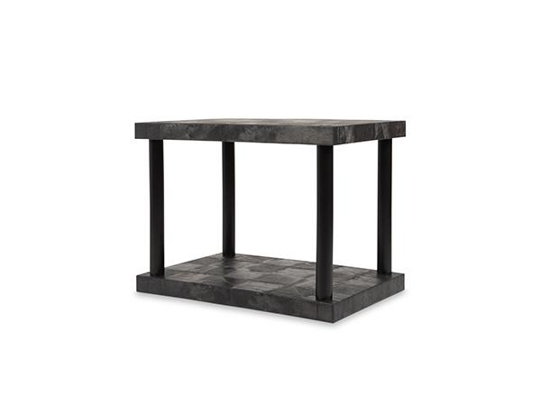 DuraShelf Solid Top 36x24 27 2-Shelf System Angle