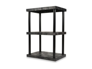 DuraShelf Solid Top 36x24 51 3-Shelf System Angle