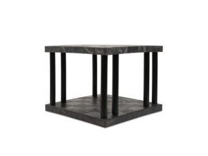 DuraShelf Solid Top 36x36 27 2-Shelf System Angle