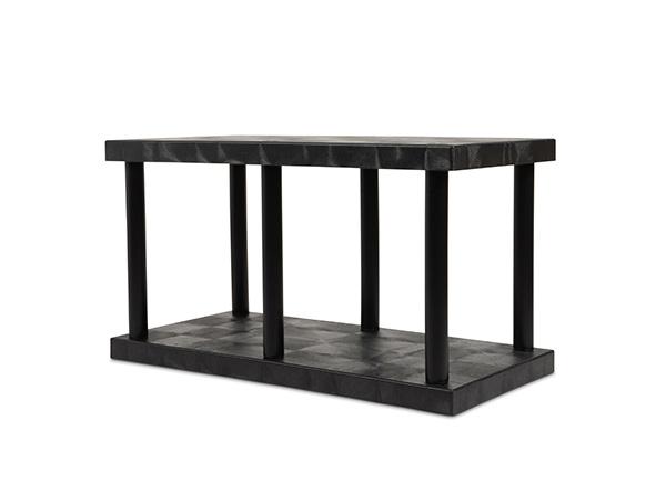 DuraShelf Solid Top 48x24 27 2-Shelf System Angle