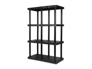 DuraShelf Solid Top 48x24 75 4-Shelf System Angle