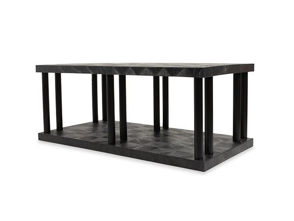 DuraShelf Solid Top 66x36 27 2-Shelf System Angle